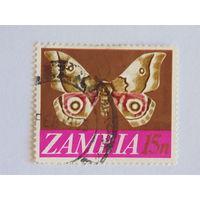Замбия 1969г.  Фауна