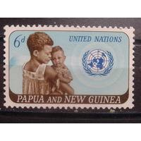 Папуа Новая Гвинея 1965 20 лет ООН**