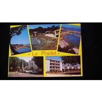 Почтовая карточка  подписанная (LE PRADET - LES OURSINNIERES).  распродажа