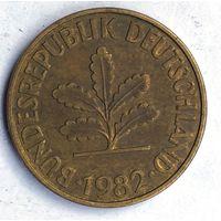 Германия (ФРГ), 10 пфеннигов 1982 (G)