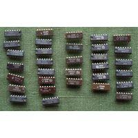 Микросхемы сборный лот (цена за 32 шт.)