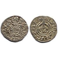 Грошен (1/24 талера) 1618, Германия, Равенсберг (графство), Дата по кругу. Штемпельный блеск, коллекционное состояние