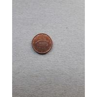 Монета Ирландия 1 евроцент 2014