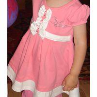 Нарядное платьеце 1-2 годика
