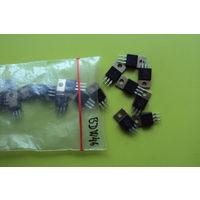 Транзистор BDW46 Darl. PNP (Ucb max=80V; Uce max=80V; Ic max=15A; Pc max=85W; Ft max=4MHz; Hfe=2000)