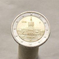 Германия 2 евро 2018 D Берлин