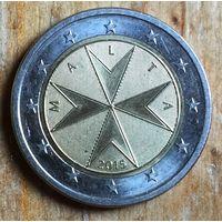 Мальта, 2 евро 2015