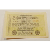Старт с 1 рубля. 10000000 марок 1923 год.
