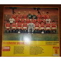Плакат Манчестер Юнайтед