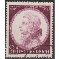 1941 - Рейх - 150 лет смерти Моцарта Mi.810 _гаш