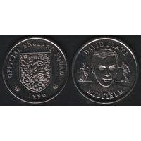 Official England Squad. Midfield. David Platt -- 1996 Official England Squad (f04)