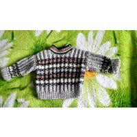 Шерстяной свитер для крох