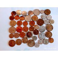 Монеты России с рубля.