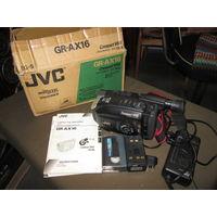 С 1 рубля!Видеокамера JVC GR-AX16Compact VHS.Новая.