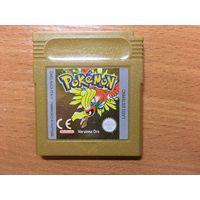 Pokemon Gold Version Картридж для Game Boy Original