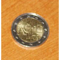 Литва 2 евро 2015 Aciu UNC