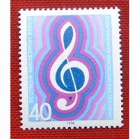 Германия. Западный Берлин. Певческий союз. ( 1 марка ) 1976 года.