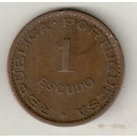 Ангола 1 эскудо 1956
