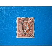 Ямайка. 1938 г. Мi-125. Георг VI.