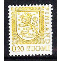 1977 Финляндия. Герб