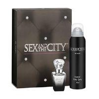 ПОДАРОЧНЫЙ НАБОР Sex and the City By Night EDP 30мл + дезодорант д/тела 150мл