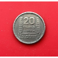 45-28 Алжир, 20 франков 1956 г.