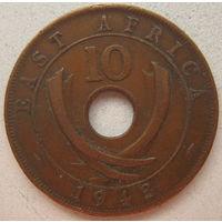 Британская Восточная Африка 10 центов 1943 г. (gl)