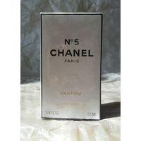 Духи CHANEL N 5 Parfum объем 7,5 мл, новые, в запечатанной коробке, спрей для сумочки