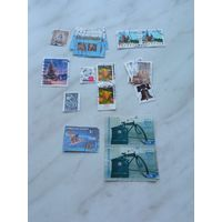 Набор марок (27 штук)
