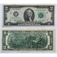 2 доллара США, 1976 K