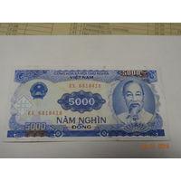 Вьетнам, 5 000 донгов обр. 1991 г., ХF