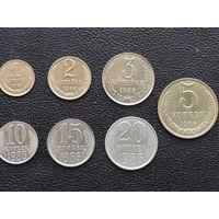 Набор монет 1986г.