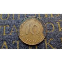 10 пфеннигов 1981 (J) Германия ФРГ #02