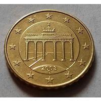 10 евроцентов, Германия 2003 D, AU