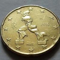 20 евроцентов, Италия 2010 г.