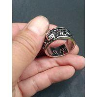Кольцо перстень с черепом