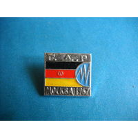 Значок Выставка Энергетики ГДР Москва 1967 г.