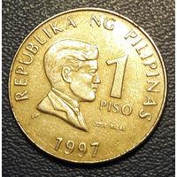 Филиппины. 1 писо 1997_km#269_Не Магнит - с 50 коп.