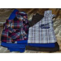Комплект одежды для мальчика на рост 104 (11 вещей)
