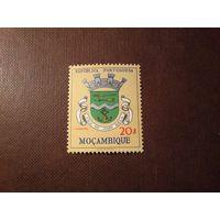 Португальский Мозамбик 1961 г.Герб города  Вила - де - Жоао Белу (сейчас город  Шай-Шай )./1а/