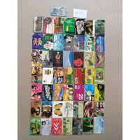 Лот телефонных карт разных стран 50 штук #35