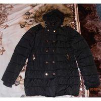 Куртка-пальто зима 164 см