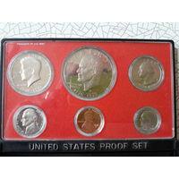 Набор монет США 1976