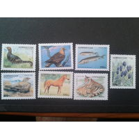Азербайджан 1995 стандарт, Флора и фауна полная серия