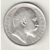 Британская Индия 1 рупия 1906
