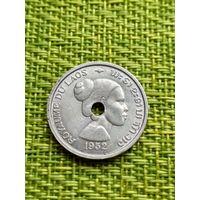 Лаос 10 центов, 1952 год