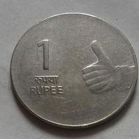 1 рупия, Индия 2009 г.