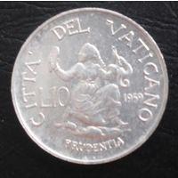 Ватикан 5 лир 1959 года