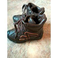 Зминие ботинки милтон с ледоступами