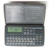 CITIZEN ED-3000RX многофункциональная записная книжка - калькулятор